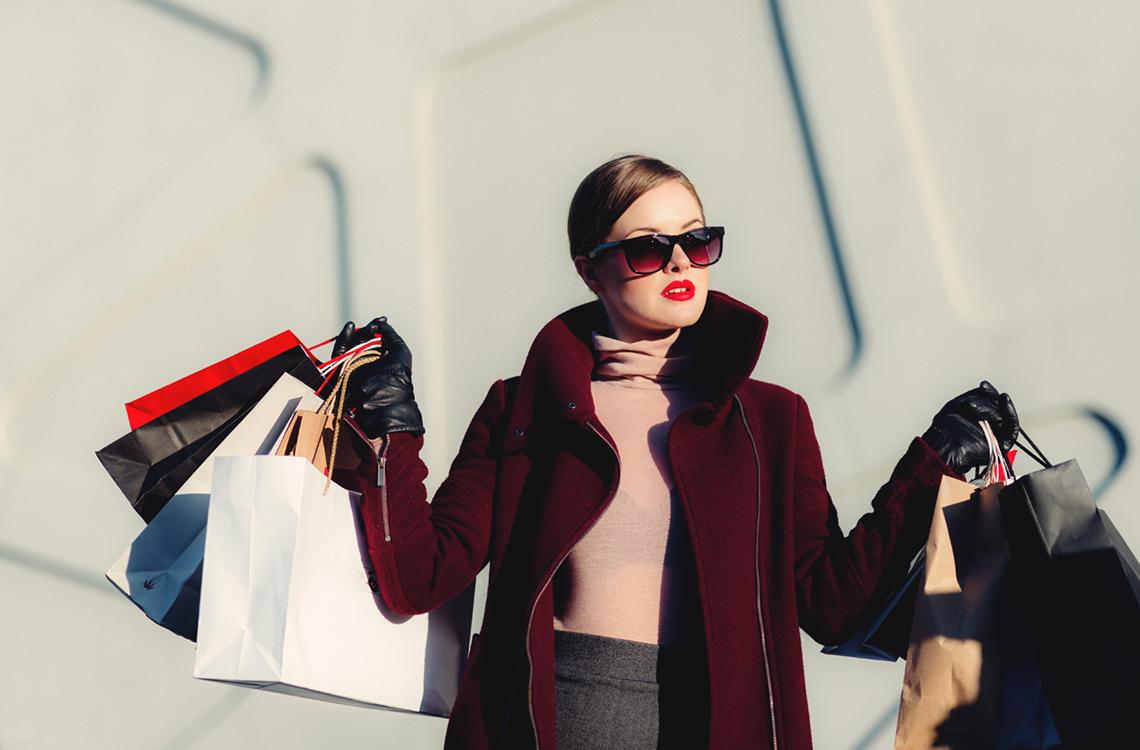 Leve i luksus – og give slip